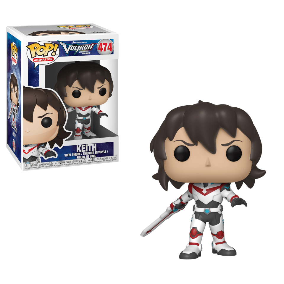 Voltron Keith Pop Vinyl Figure Pop In A Box Us