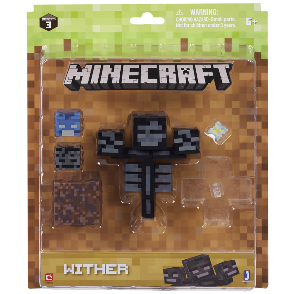 Minecraft Wither Survival Pack Toys Zavvi
