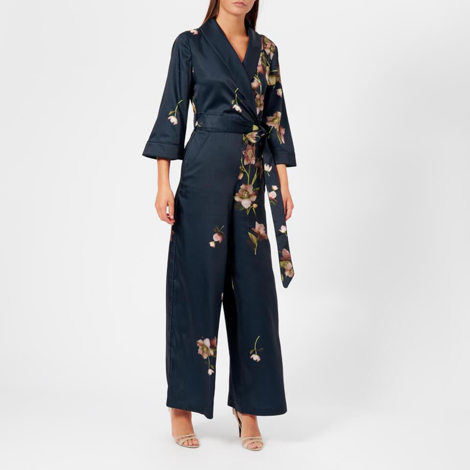 e456cde316d7 Ted Baker Women s Kensidy Arboretum Pyjama Jumpsuit - Blue Womens Clothing