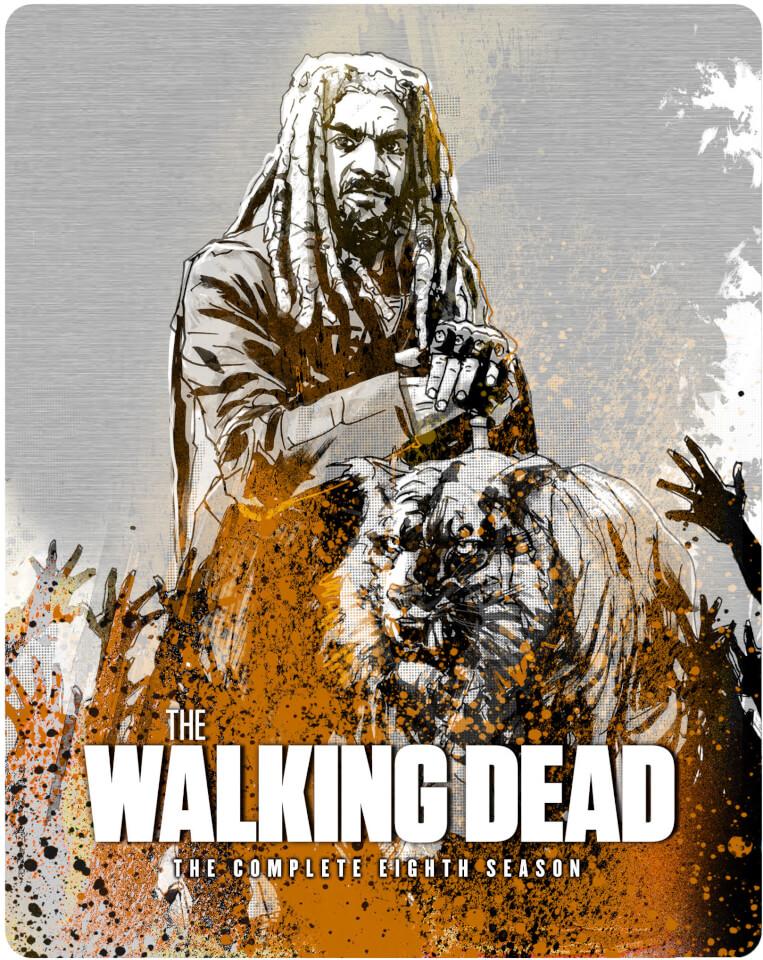 The Walking Dead Season 8 Blu Ray Zavvi Exclusive Steelbook