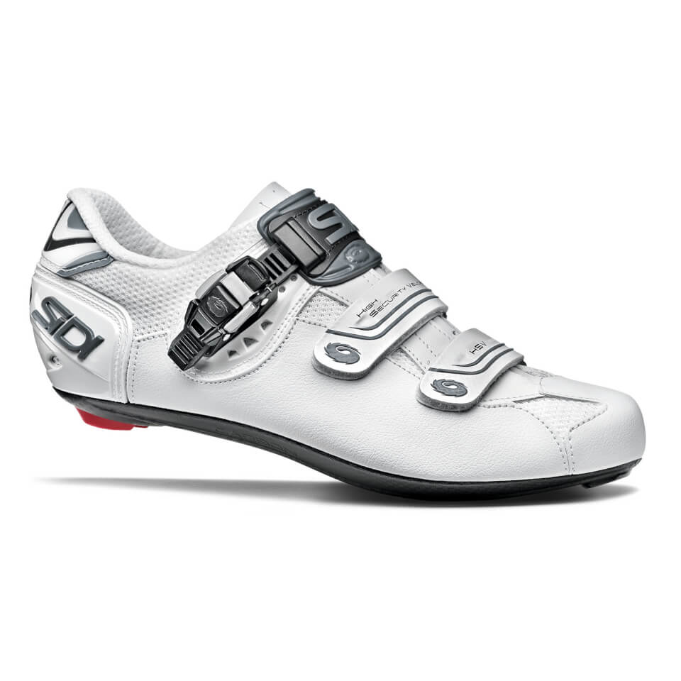 Sidi Genius 7 Shadow Road Shoe - white | Shoes and overlays
