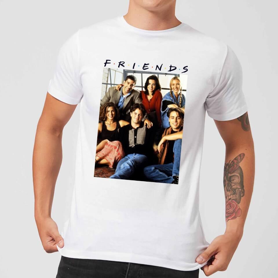 Camiseta Friends Foto Personajes Vintage - Hombre - Blanco Clothing ... 9334d531dedec