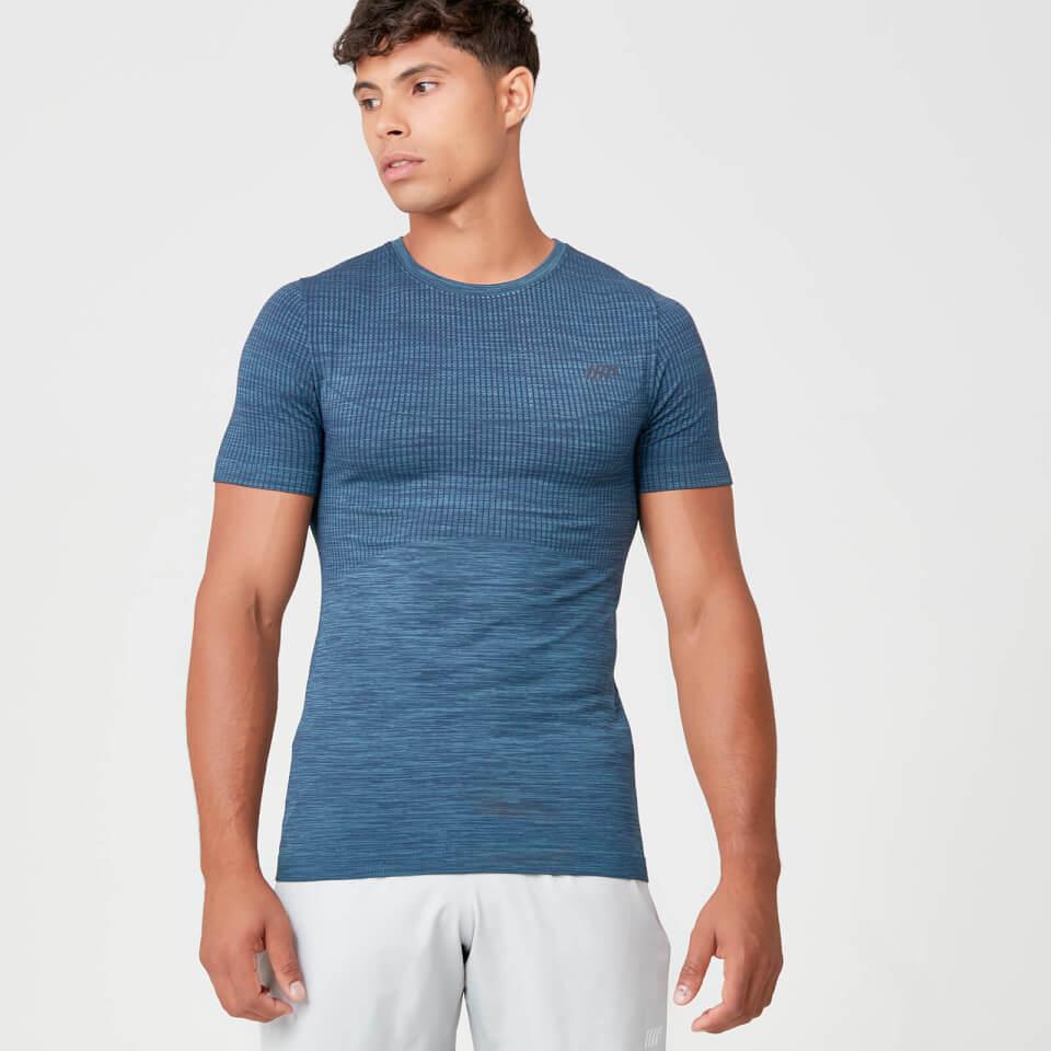 Myprotein Sculpt Seamless T-Shirt - Petrol Blue | Jerseys