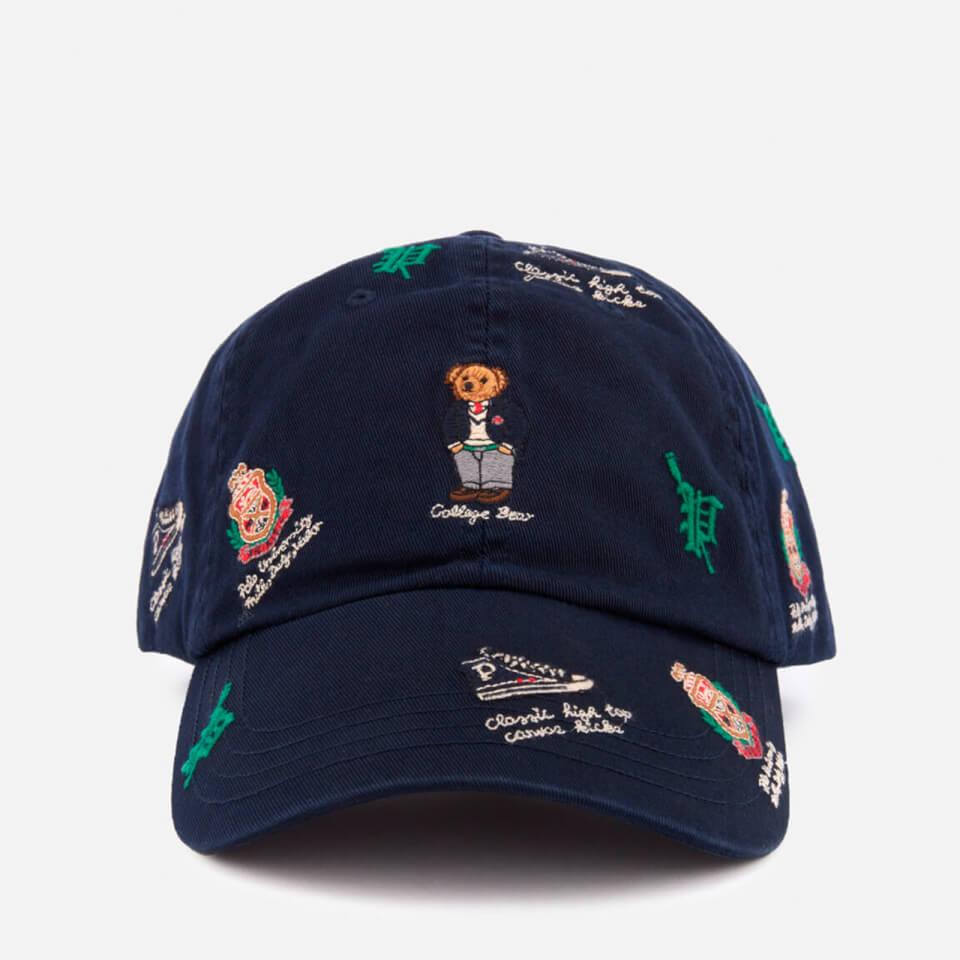 d023c7f6466 Polo Ralph Lauren Men s Bear Logo Cap - Aviator Navy - Free UK ...