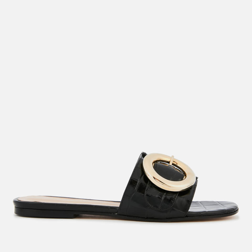772bf1bac19840 Mulberry Women s Mule Sandals - Black - Free UK Delivery over £50