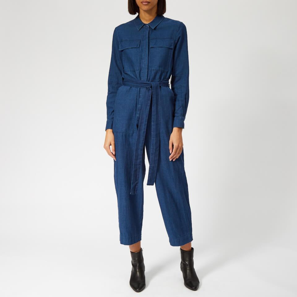 a150240799 Whistles Women s Pia Utility Denim Jumpsuit - Denim Womens Clothing ...