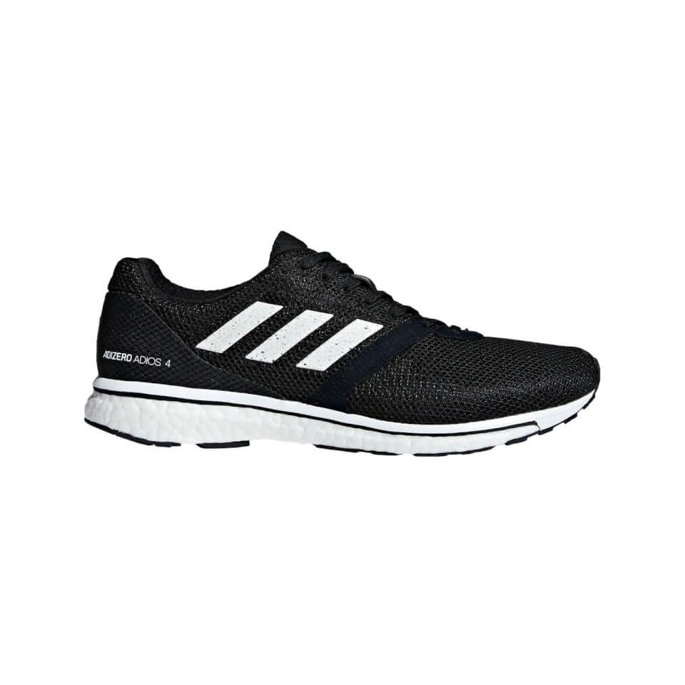 adidas Adizero Adios 4 Sko Damer, grey two/footwear white/hi-res coral (2019) | Shoes