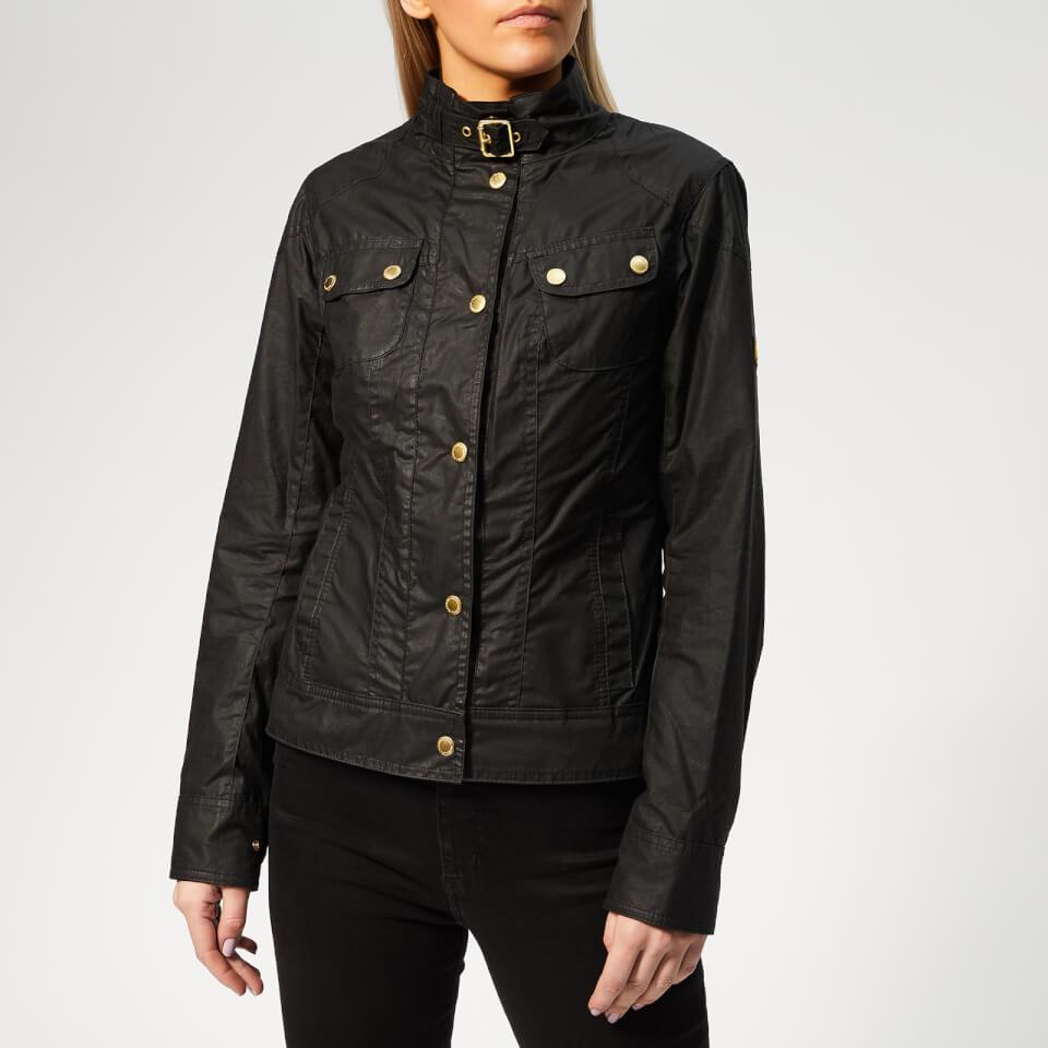 Barbour International Women s Pitch Wax Jacket - Black Womens Clothing  c7fa1f763ad6