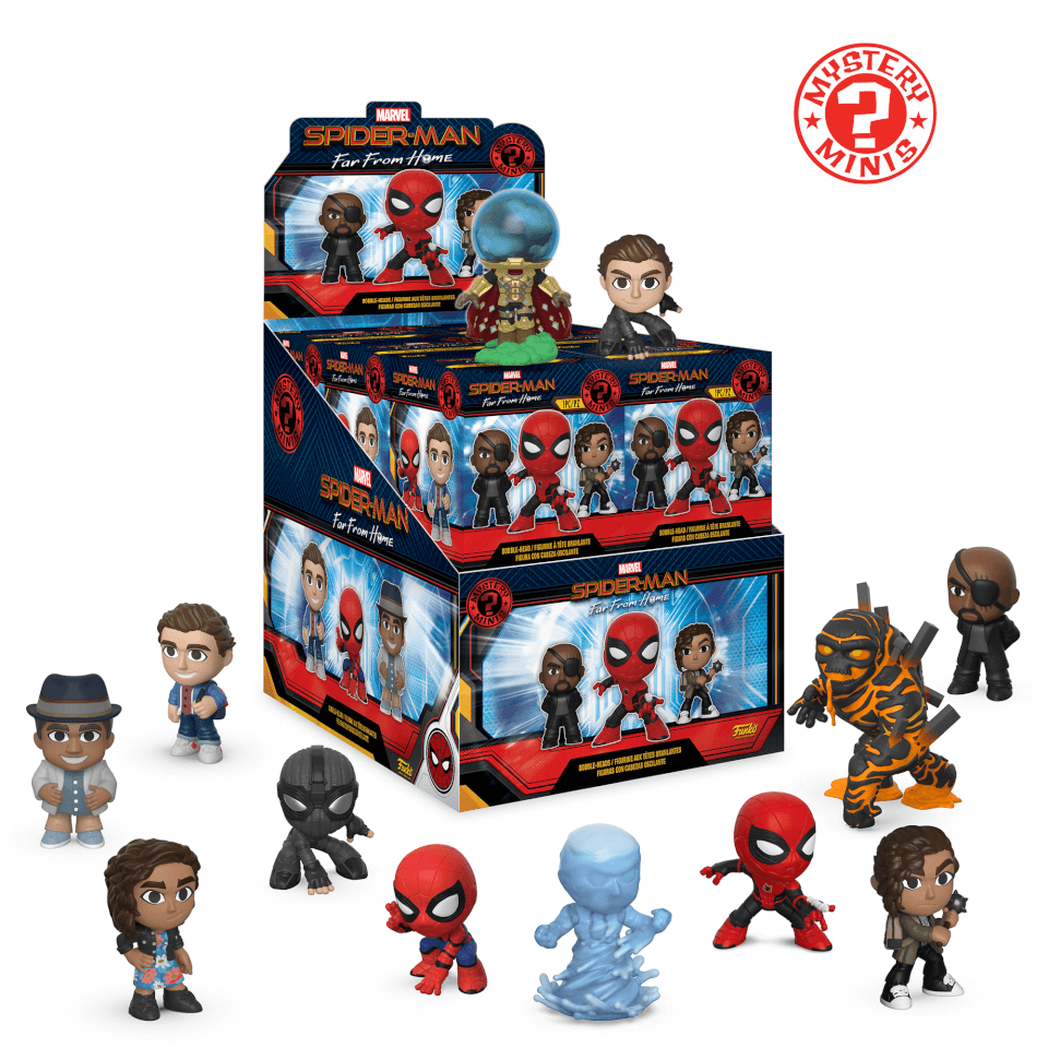 Marvel Spider Man Far Frome Home Mystery Minis Pop In A