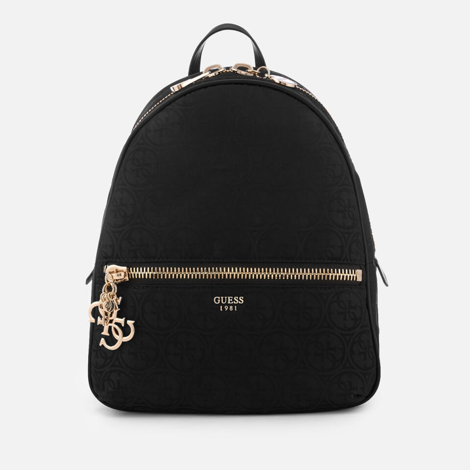 Guess Women S Urban Chic Large Backpack Black