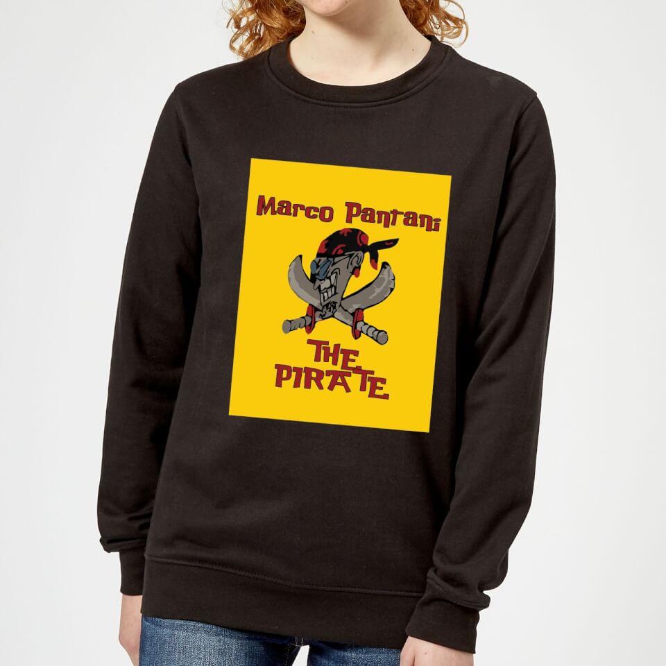 Summit Finish Pantani The Pirate Women's Sweatshirt - Black | Jerseys