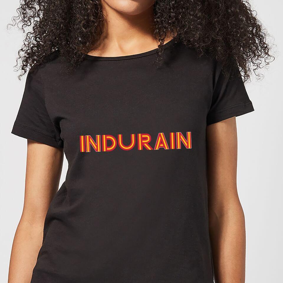 Summit Finish Indurain - Rider Name Women's T-Shirt - Black | Jerseys