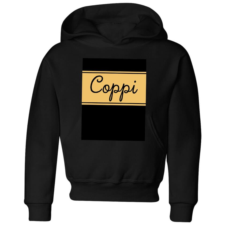 Summit Finish Fausto Coppi Kids' Hoodie - Black | Jerseys