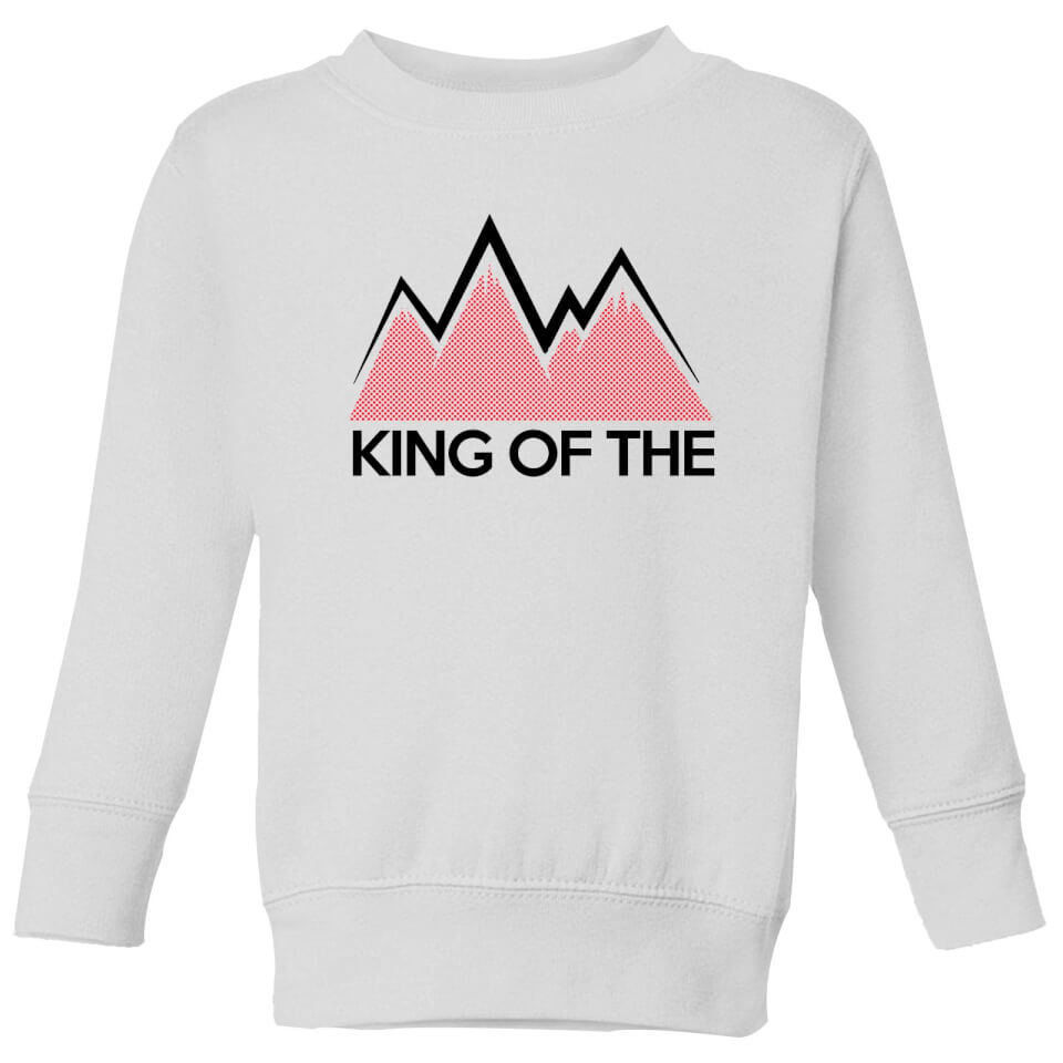 Summit Finish King Of The Mountains Kids' Sweatshirt - White | Jerseys