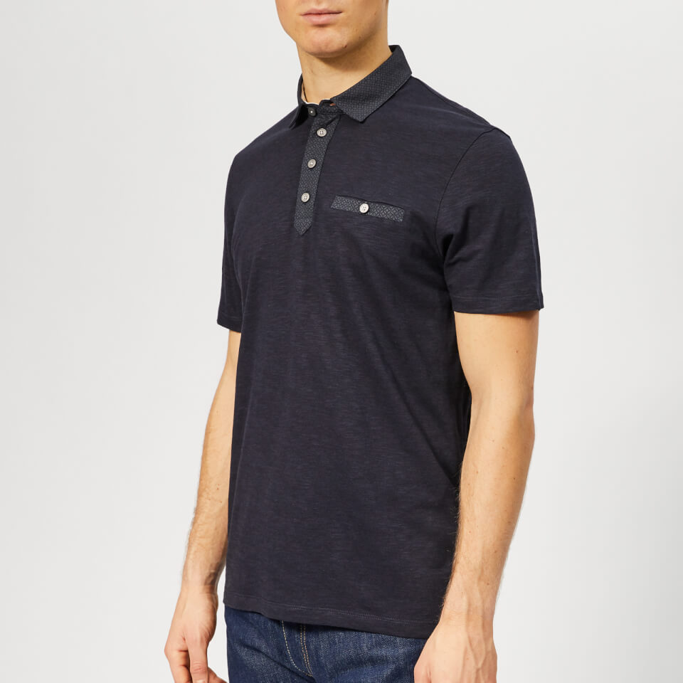 758ccd82dac66 Ted Baker Men s Saharah Polo Shirt - Navy Clothing