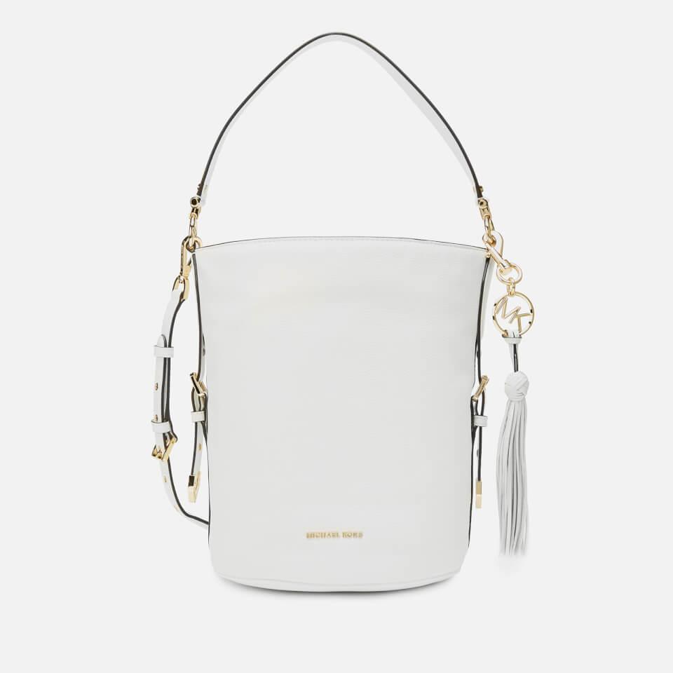 3c74b2346f8a MICHAEL MICHAEL KORS Women's Brooke Medium Bucket ...