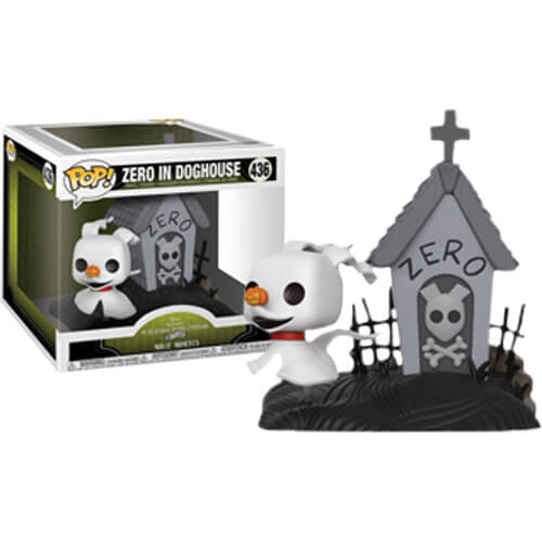 52d4ce0075a Disney The Nightmare Before Christmas Zero in Dog House EXC Pop! Movie  Moment. Description