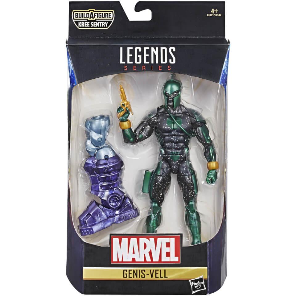 Hasbro Marvel Legends Series Captain Marvel 6 Inch Genis