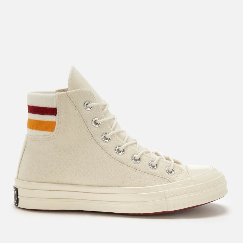 abb1a2a457a8d8 Converse Women s Chuck Taylor All Star 70 Hi-Top Trainers - Egret Rhubarb Orange  Rind - Free UK Delivery over £50