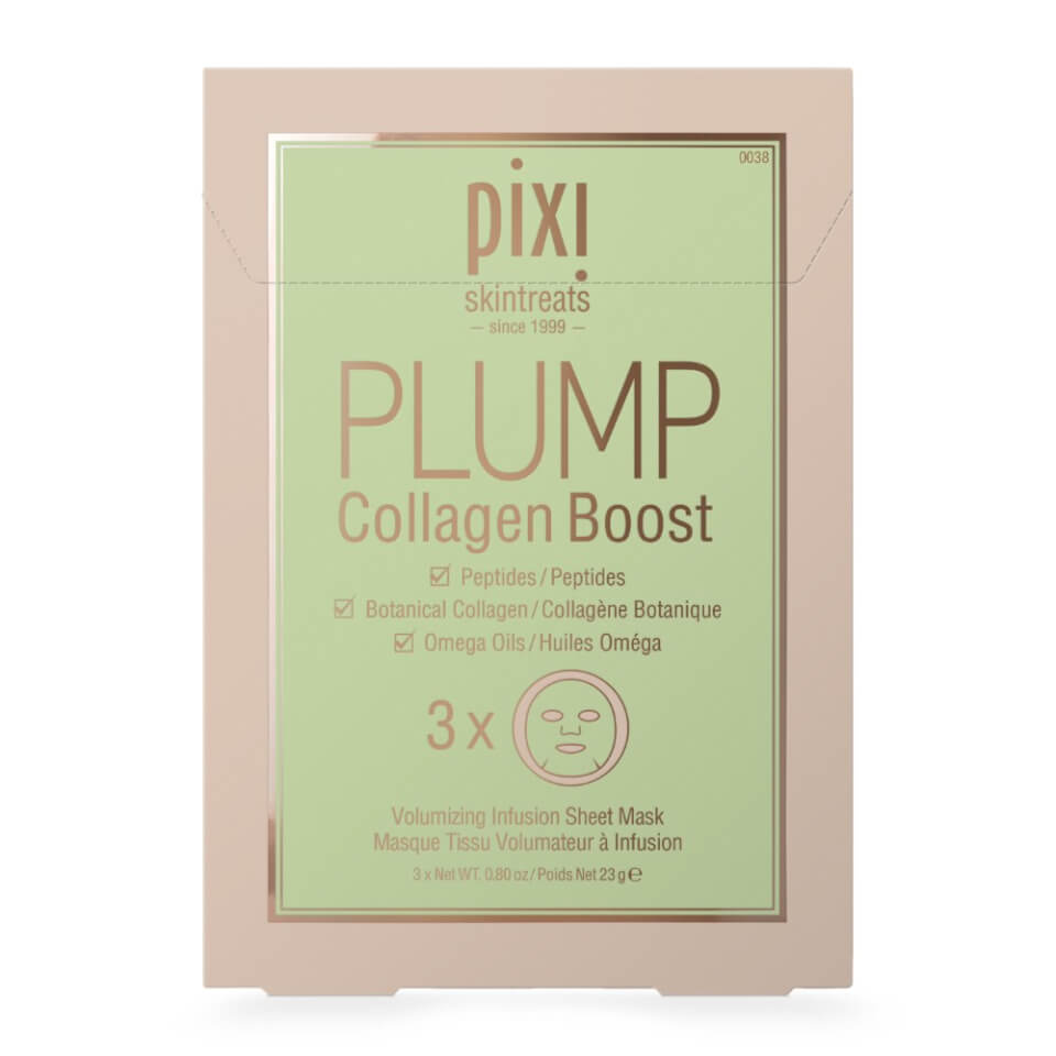 PIXI GLOW Glycolic Boost Sheet Mask (Pack of 3)
