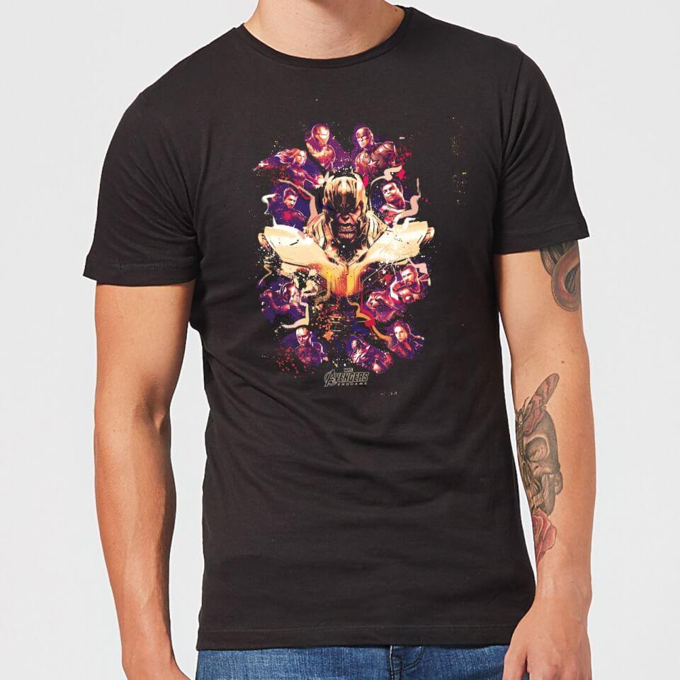 Avengers Endgame Splatter Men's T-Shirt