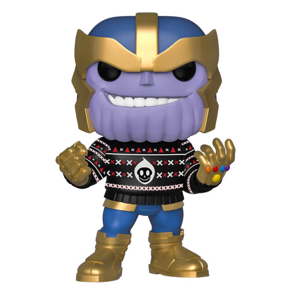 Marvel Holiday Thanos Pop! Vinyl Figure Merchandise
