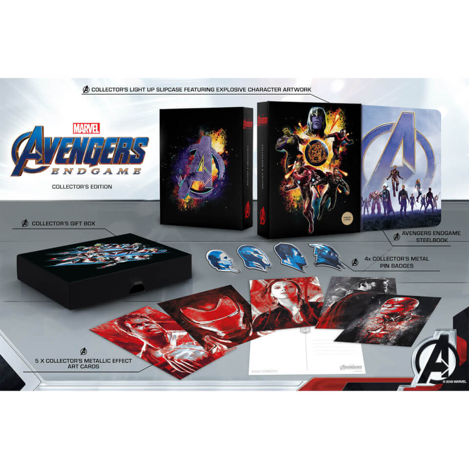 Avengers : Endgame 4K Ultra HD Zavvi Exclusive Collector's