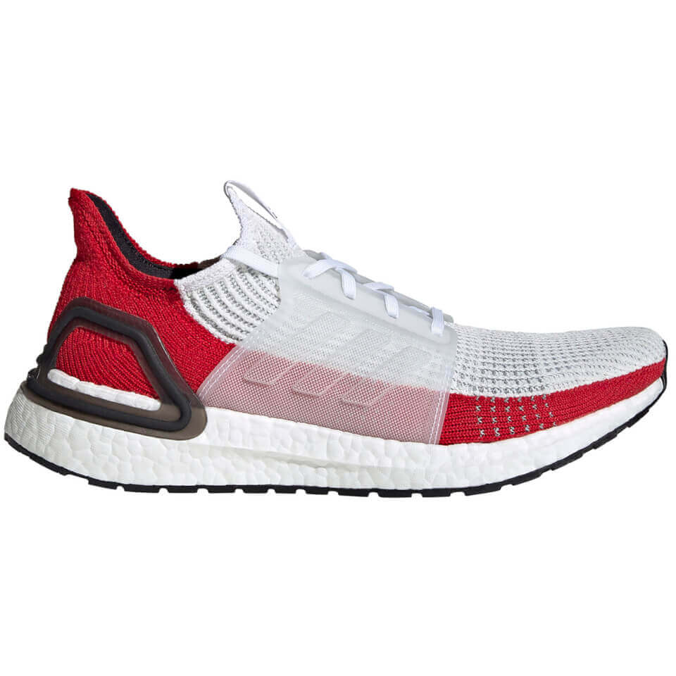 adidas Ultra Boost 19 Running Shoes - White/Black | Sko