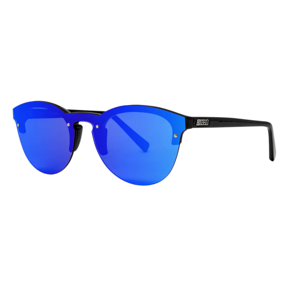 Scicon Protector Sunglasses Blue Multimirror Lens - Black Gloss Frame | item_misc