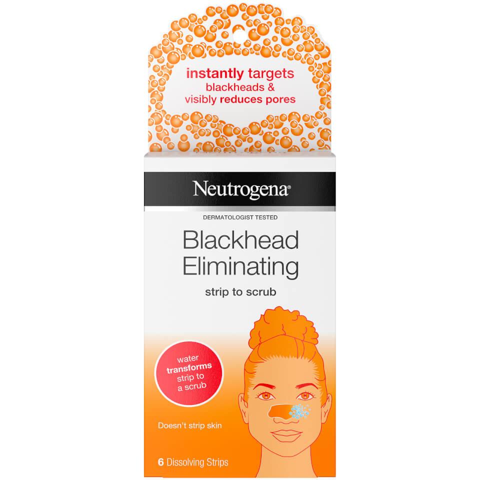 Neutrogena Blackhead Eliminating Strip To Scrub (6 Strips) by Look Fantastic