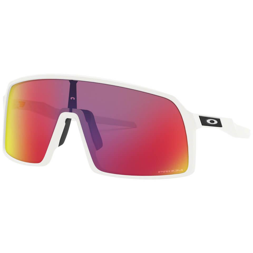 Oakley Sutro Sunglasses - Matte White/Prizm Road | Briller