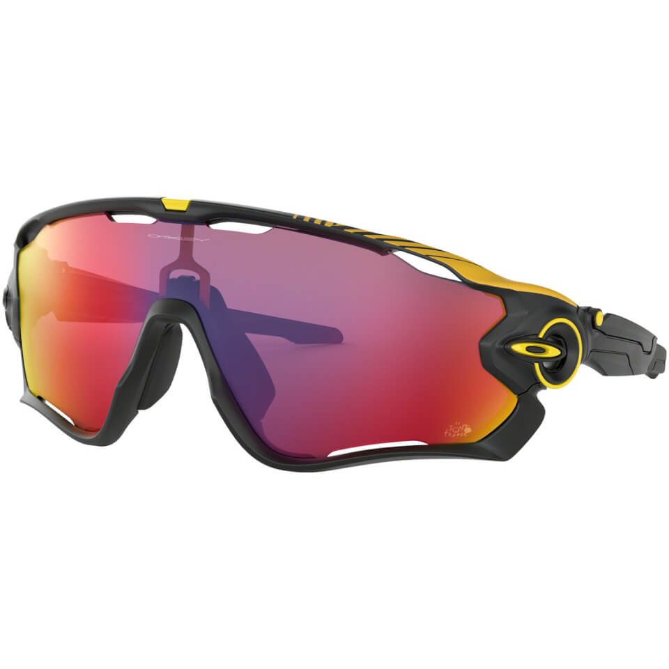 Oakley Jawbreaker Tour De France 2019 Sunglasses - Matte Black/Prizm Road | Briller