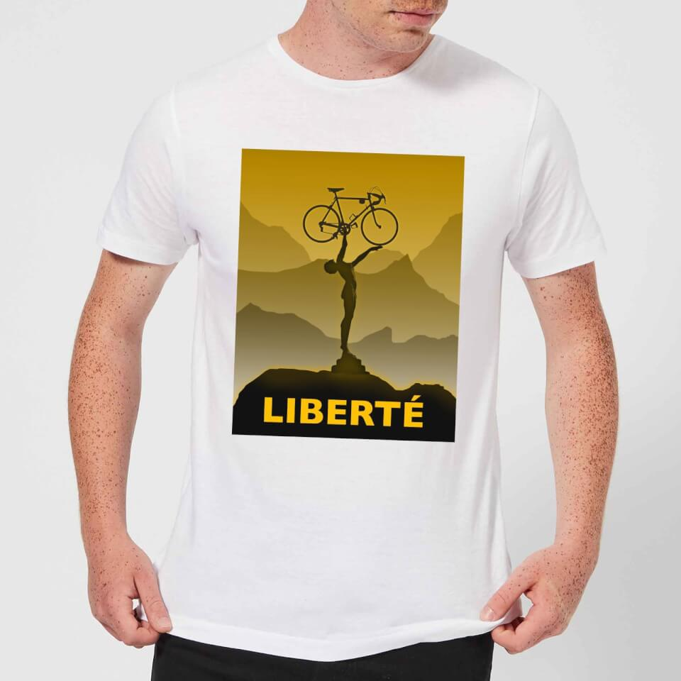 Mark Fairhurst Liberte Men's T-Shirt - White | Jerseys