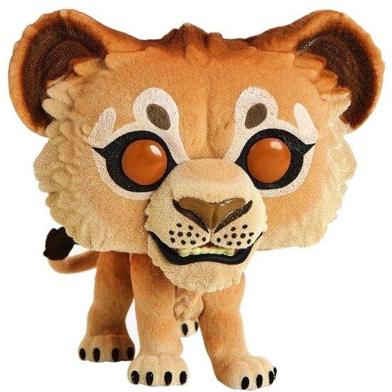 Disney The Lion King 2019 Simba Flocked Exc Pop Vinyl Figure