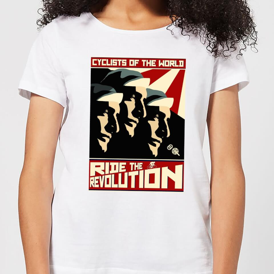 Mark Fairhurst Revolution Women's T-Shirt - White | Jerseys