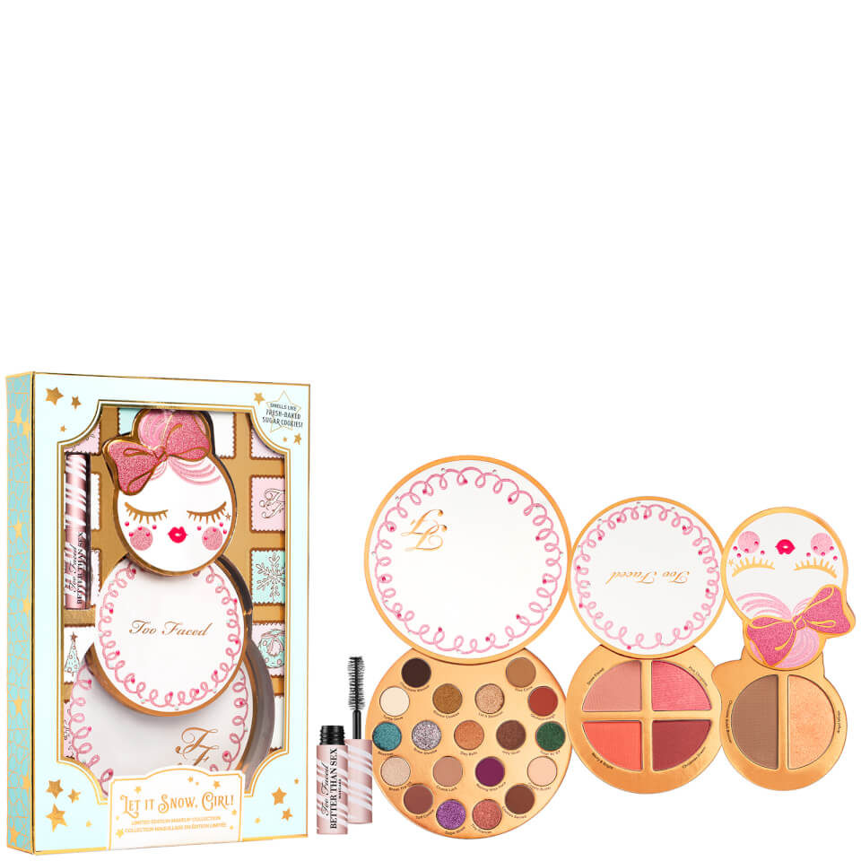 Too Faced Let it Snow Girl! Makeup Collection