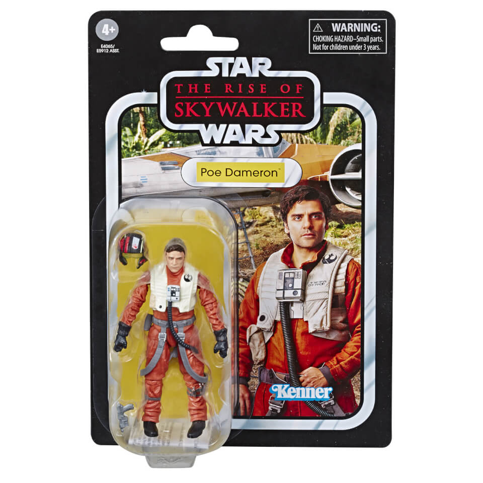 """POE DAMERON NEW STAR WARS The Force Awakens 3.75/"""" Action Figure"""