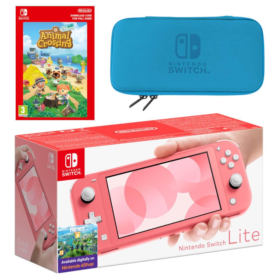 Nintendo Switch Lite (Coral) Animal Crossing: New Horizons ...