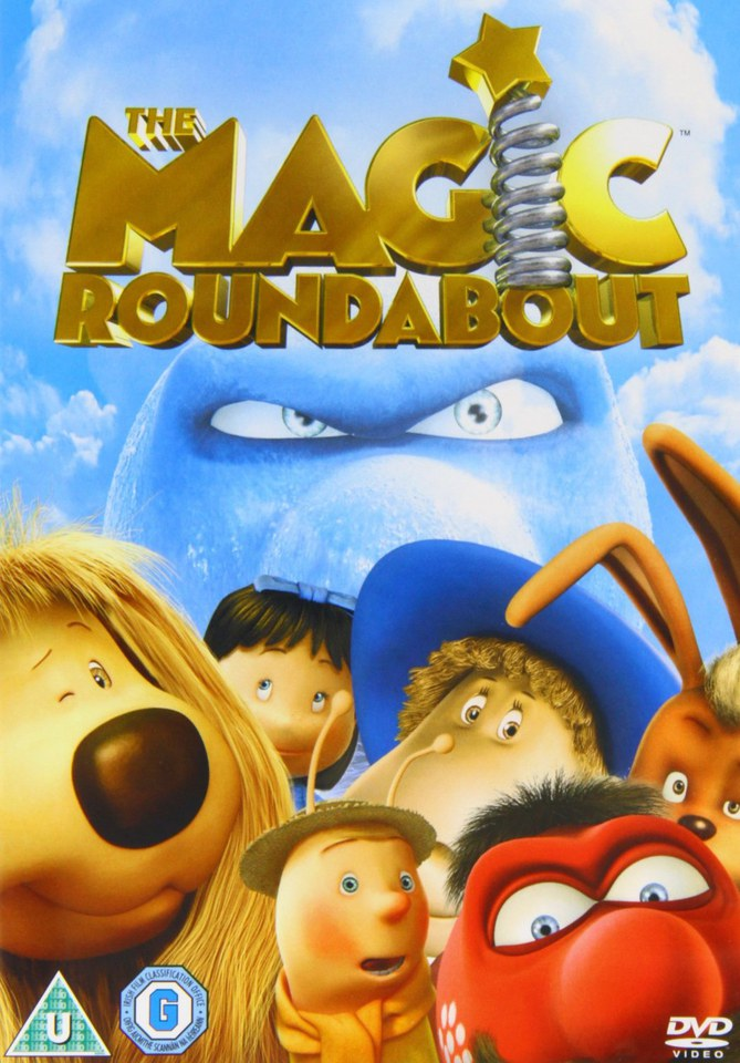 The Magic Roundabout Dvd Zavvi