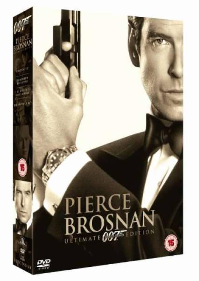 James Bond Ultimate Pierce Brosnan 4 Titles Dvd Zavvi Uk
