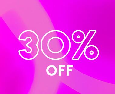 Enjoy 30% Off