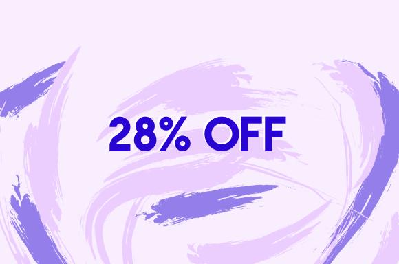 28% OFF
