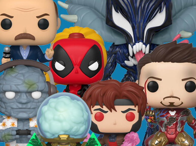 Have you always wanted to join the Avengers, or team up with the X-Men? We've got the perfect subscription for you! Our Marvel Pop In A Box Subscription will only contain Pops from across the Marvel Universe!