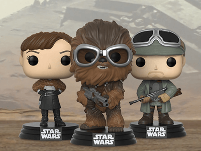 SOLO: A STAR WARS STORY POPS