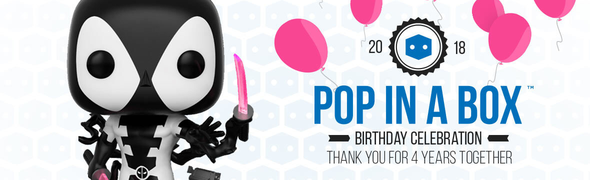Pop In A Box's 4th Birthday!
