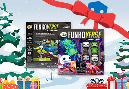 Calling all gamer's🚨 Funko have JUST released a brand new Funkoverse including Jack, Sally and more!