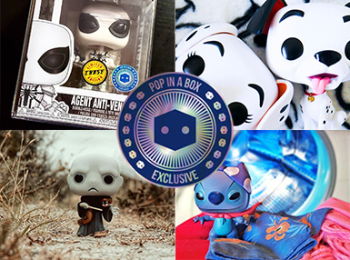 Entdecke alle Pop In A Box Exclusive Funko Pops und unsere Auswahl an Limited Edition Pops!
