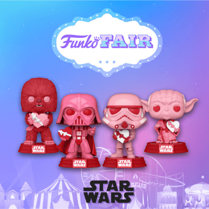 Find the latest Funko Pop! Vinyl figures to be launched here!