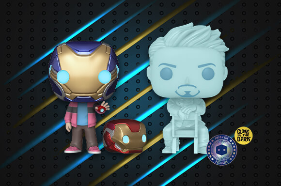 IRON MAN AND MORGAN 2-PACK
