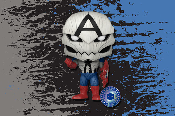 Poison Captain America!